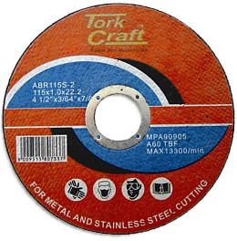 Cutting disc for steel 115mm