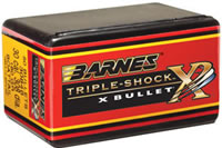 Barnes Triple-Shock X Bullets 375 Caliber (375 Diameter) 270 Grain Hollow Point Flat Base