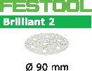 FESTOOL abrasive 50 pack, P80 grit - Dia. 90 mm